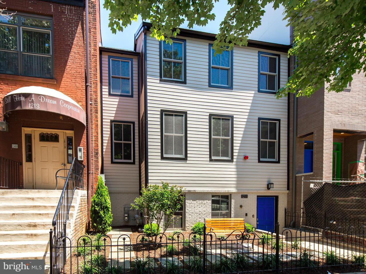 Πολυκατοικία ατομικής ιδιοκτησίας για την Πώληση στο 1211 10th St Nw #2 1211 10th St Nw #2 Washington, Περιφερεια Τησ Κολουμπια 20001 Ηνωμενεσ Πολιτειεσ