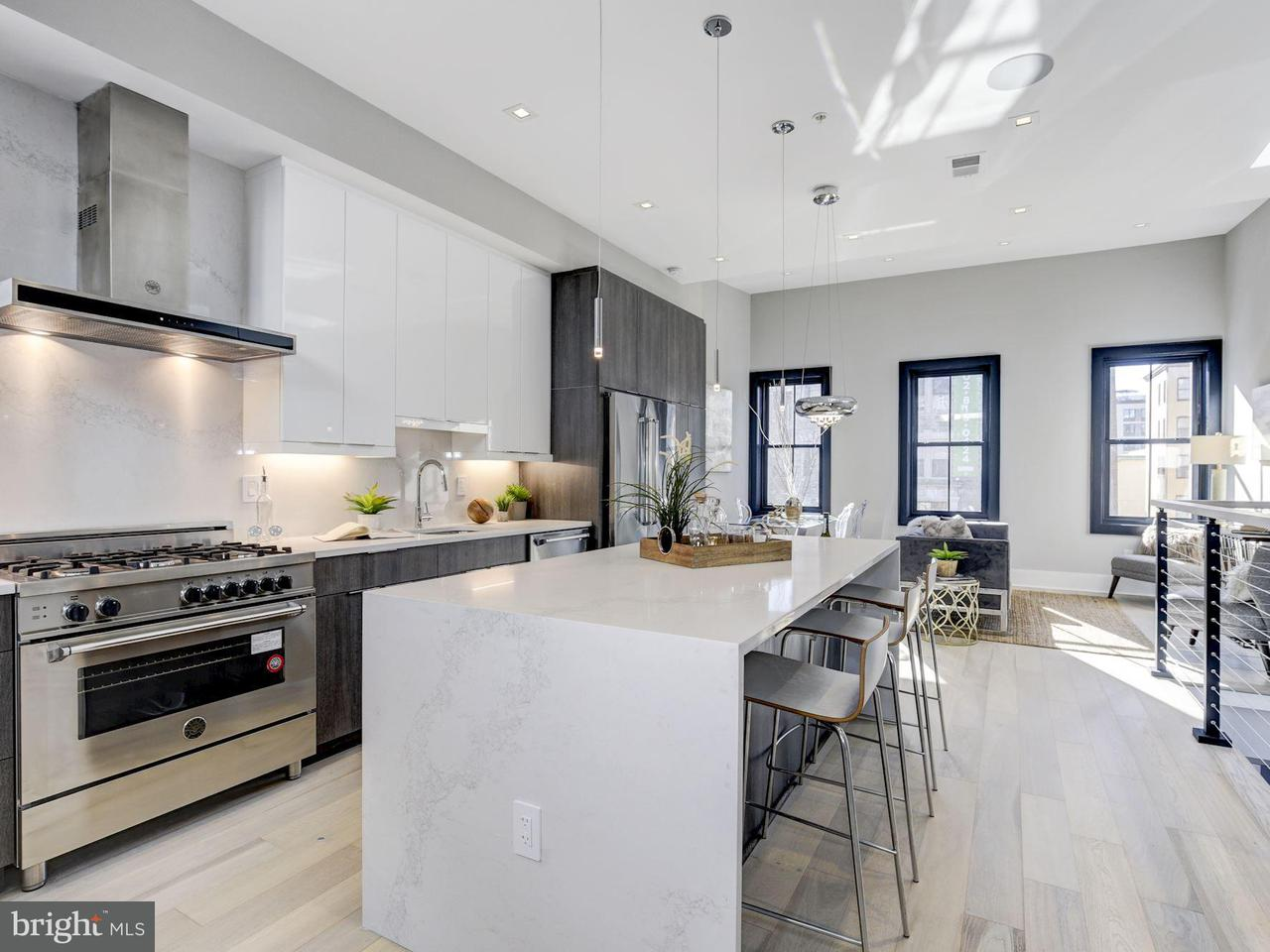 Single Family for Sale at 1429 W St NW #3 Washington, District Of Columbia 20009 United States