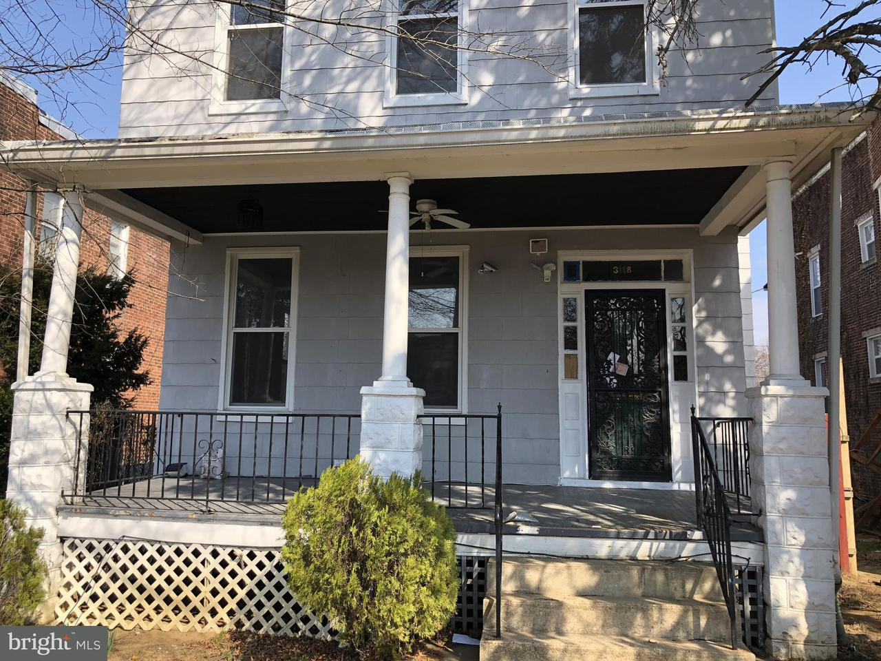 Single Family for Sale at 3118 Presbury St Baltimore, Maryland 21216 United States