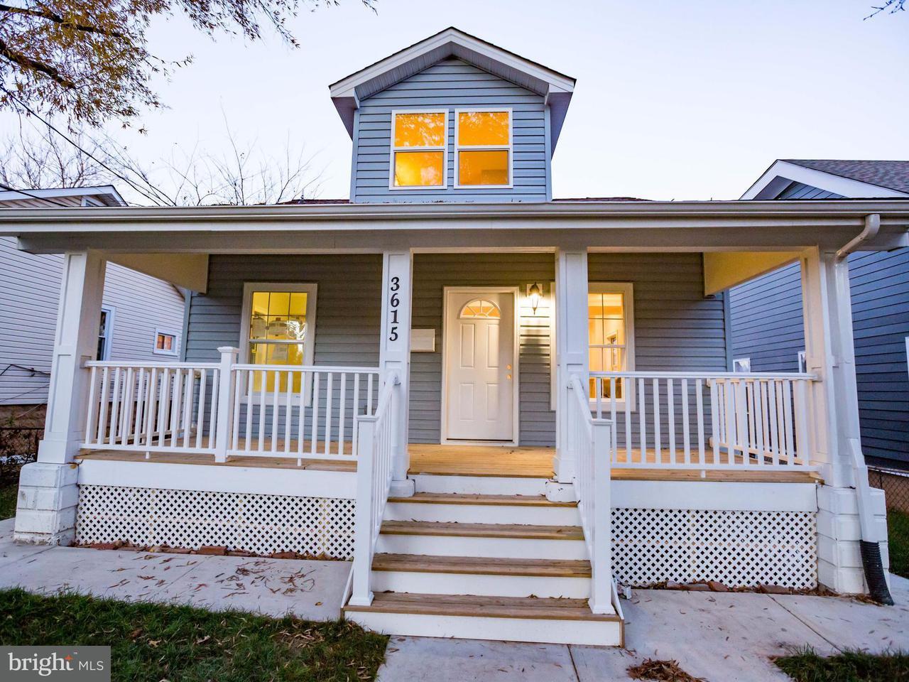 独户住宅 为 销售 在 3615 Eastern Avenue 3615 Eastern Avenue Mount Rainier, 马里兰州 20712 美国