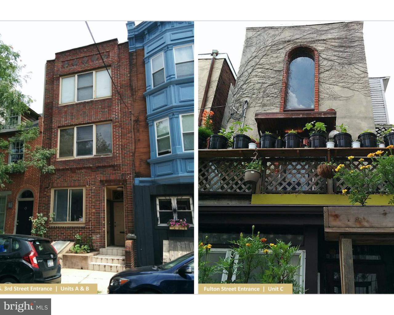 Triple por un Venta en 781 S 3RD Street Philadelphia, Pennsylvania 19147 Estados Unidos