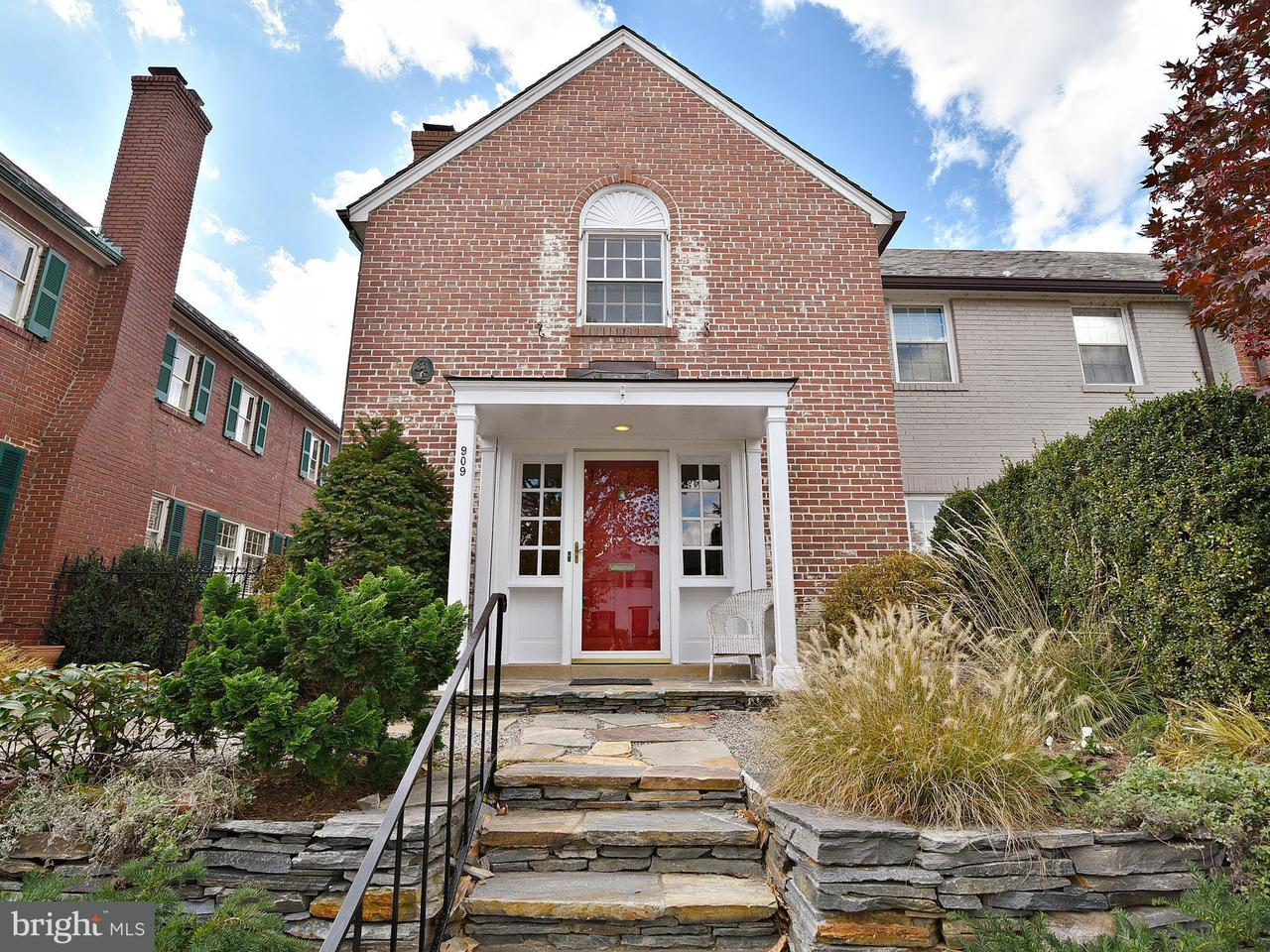 Townhouse for Sale at 909 Saint Asaph Street 909 Saint Asaph Street Alexandria, Virginia 22314 United States