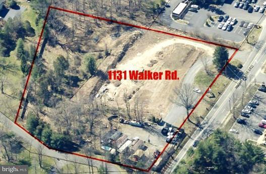 土地 為 出售 在 1131 Walker Road 1131 Walker Road Great Falls, 弗吉尼亞州 22066 美國