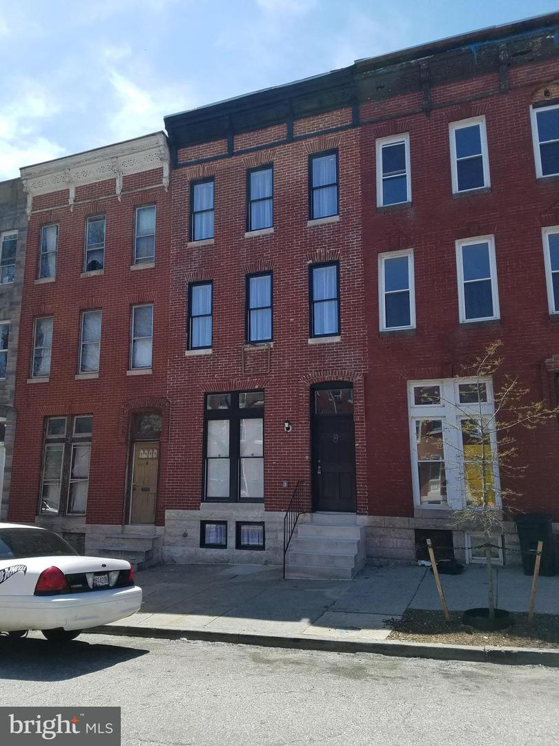 Single Family for Sale at 1826 Caroline St N Baltimore, Maryland 21213 United States