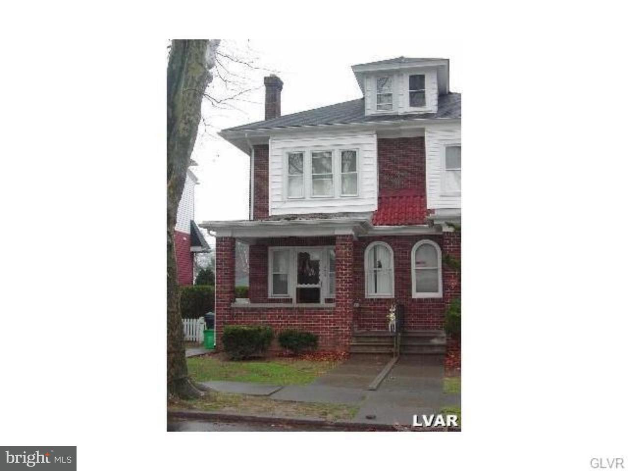 Casa unifamiliar adosada (Townhouse) por un Venta en 526 N 25TH Street Allentown, Pennsylvania 18104 Estados Unidos