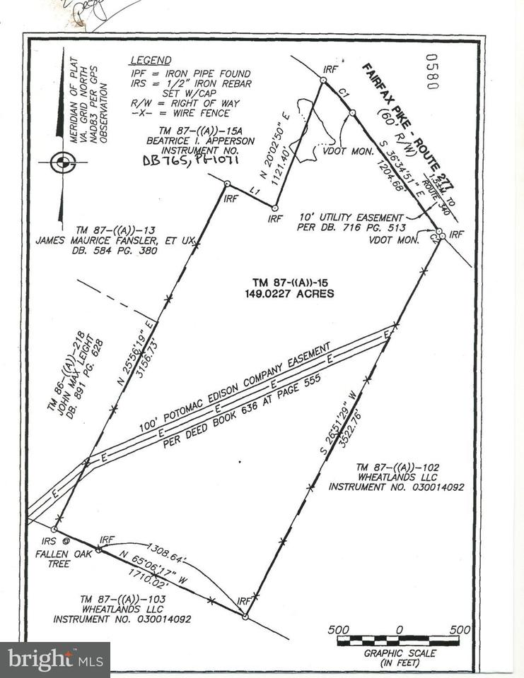 Land for Sale at 1702 Fairfax Pike White Post, Virginia 22663 United States