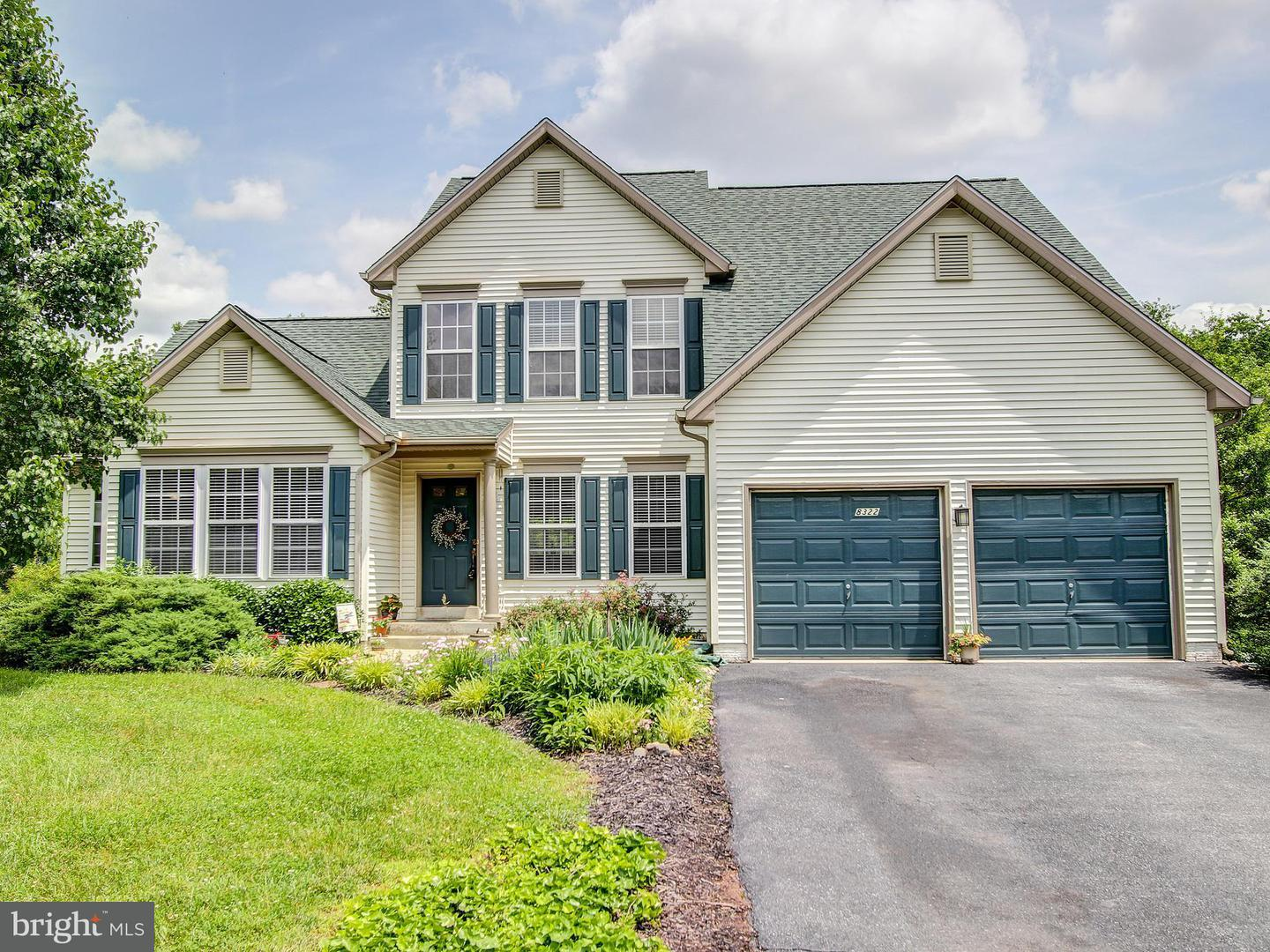 Photo of home for sale at 8322 Jordan Valley Way, Frederick MD