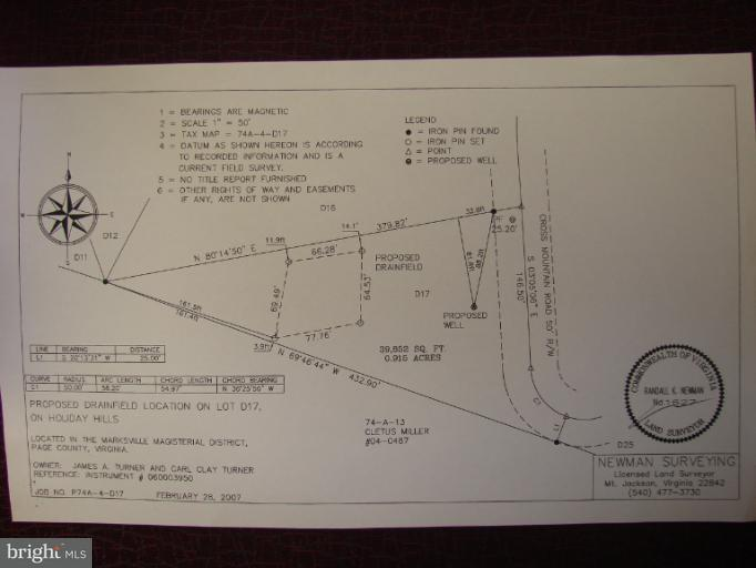 Land for Sale at Off Cross Mt. Rd. Luray, Virginia 22835 United States