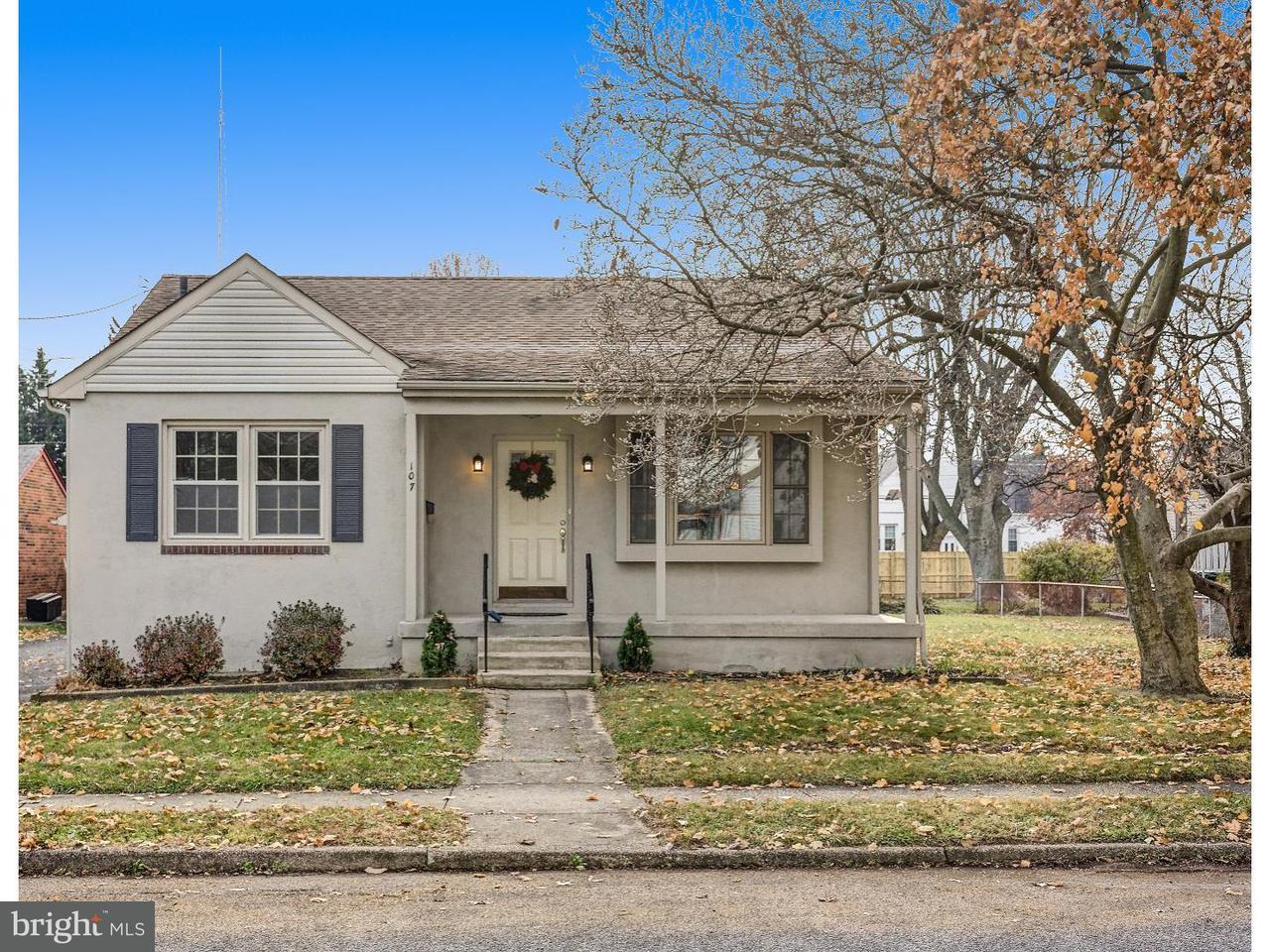 Частный односемейный дом для того Продажа на 107 MARLBOROUGH Avenue Mount Ephraim, Нью-Джерси 08059 Соединенные Штаты