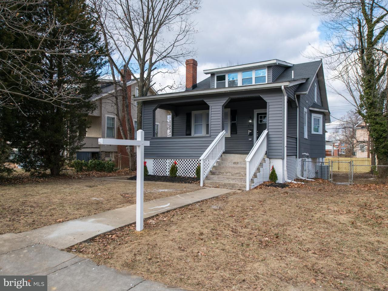 Single Family for Sale at 3716 Yosemite Ave Baltimore, Maryland 21215 United States
