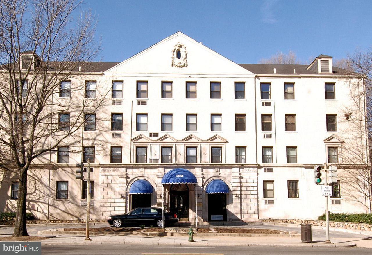 Appartement en copropriété pour l Vente à 3100 Connecticut Ave Nw #340 3100 Connecticut Ave Nw #340 Washington, District De Columbia 20008 États-Unis