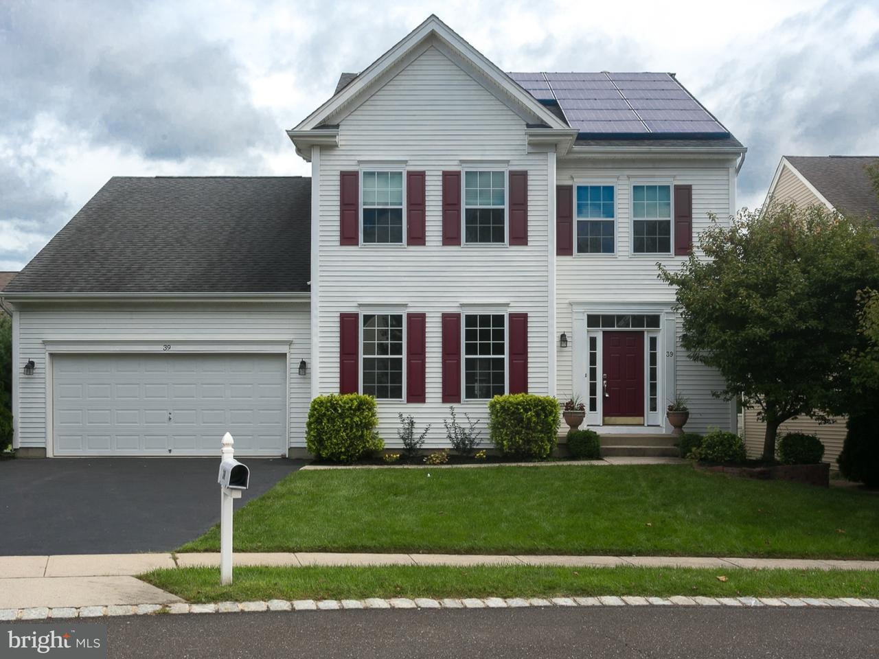 단독 가정 주택 용 매매 에 39 SAGAMORE Lane Bordentown, 뉴저지 08505 미국