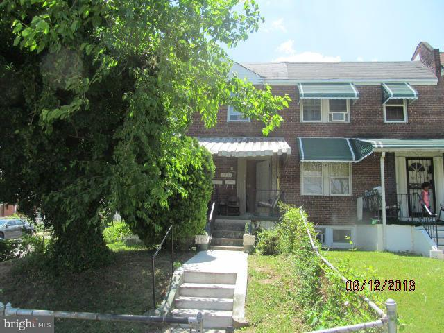 Single Family for Sale at 2821 Federal St E Baltimore, Maryland 21213 United States