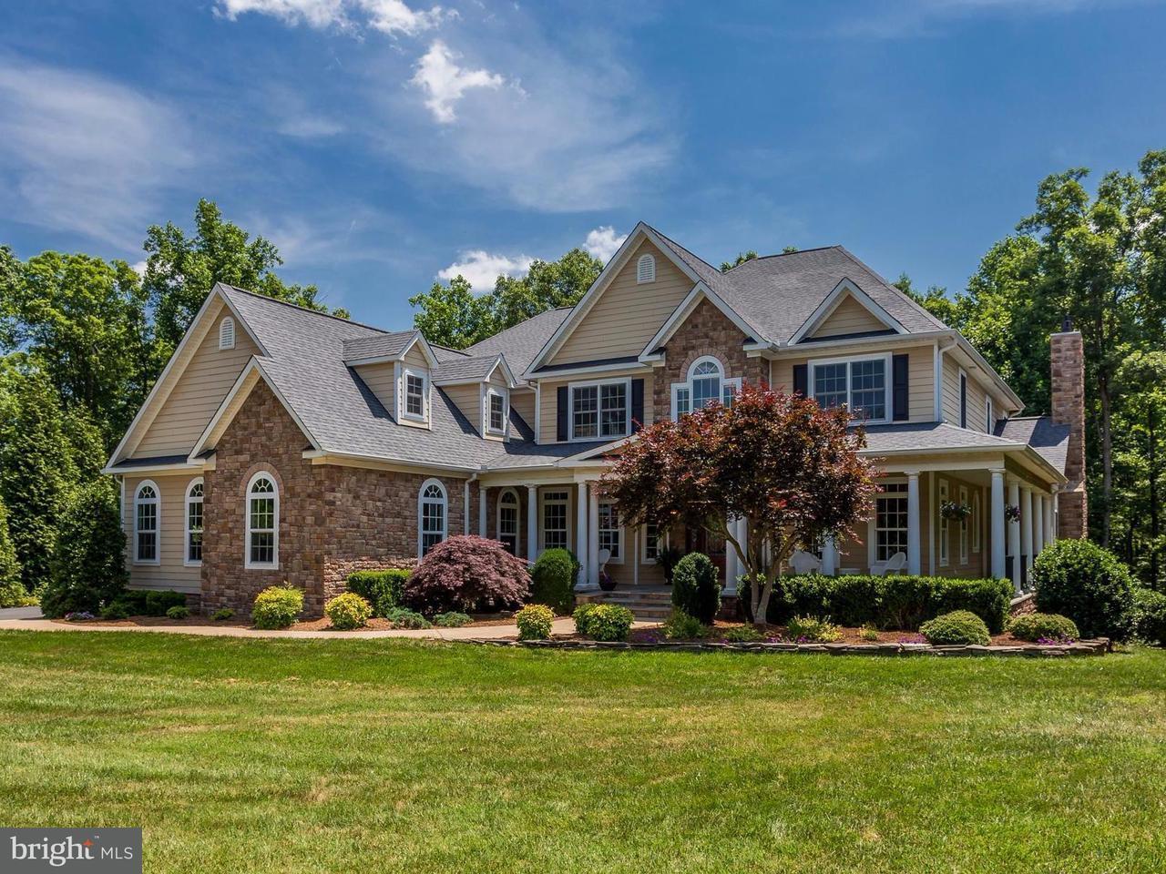 Частный односемейный дом для того Продажа на 11404 Bluffs Ridge 11404 Bluffs Ridge Spotsylvania, Виргиния 22551 Соединенные Штаты