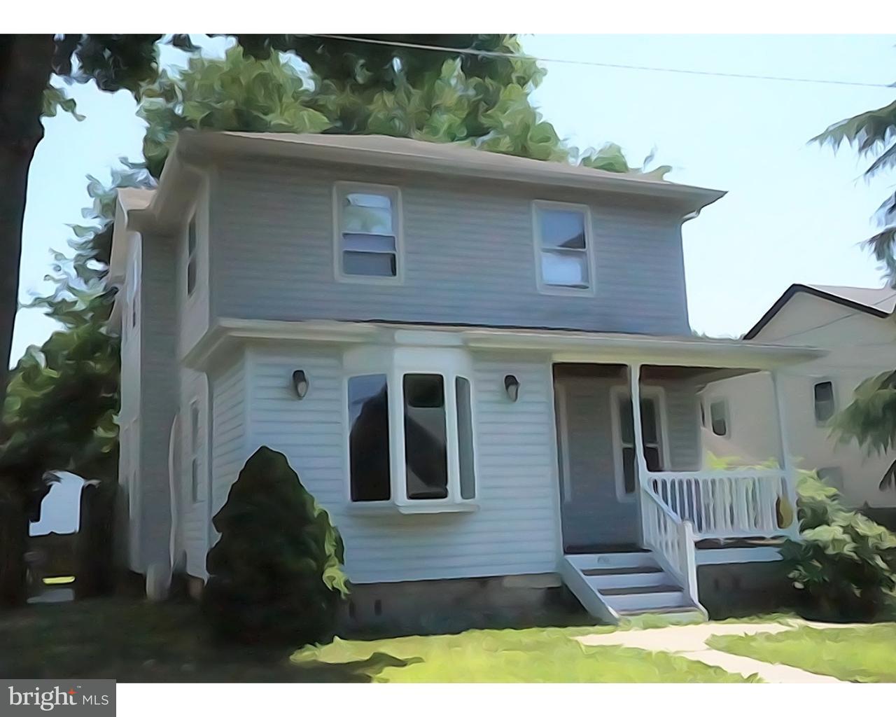 Maison unifamiliale pour l Vente à 448 ROBERTS Avenue Bellmawr, New Jersey 08031 États-Unis