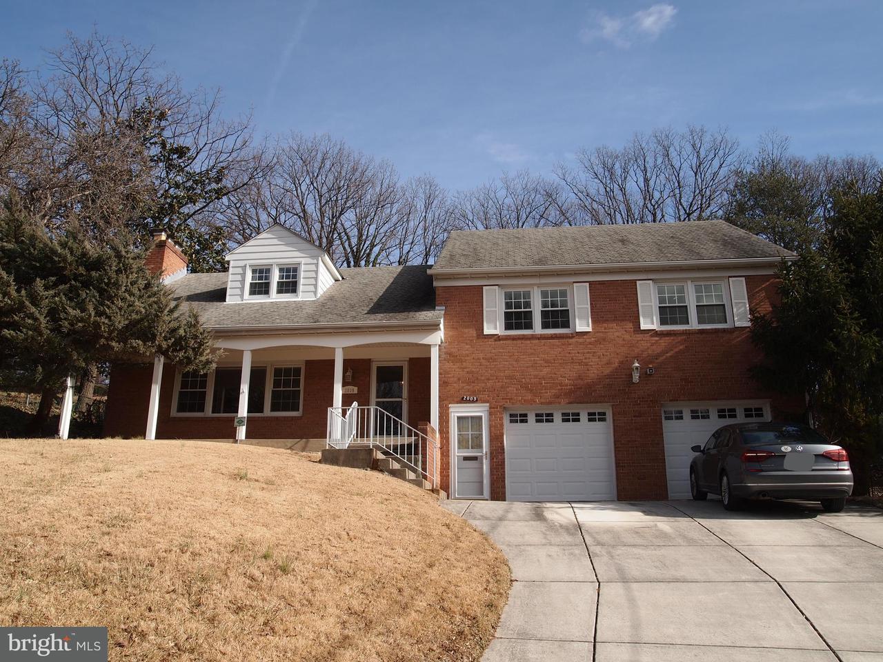Vivienda unifamiliar por un Venta en 2009 Wooded Way 2009 Wooded Way Adelphi, Maryland 20783 Estados Unidos