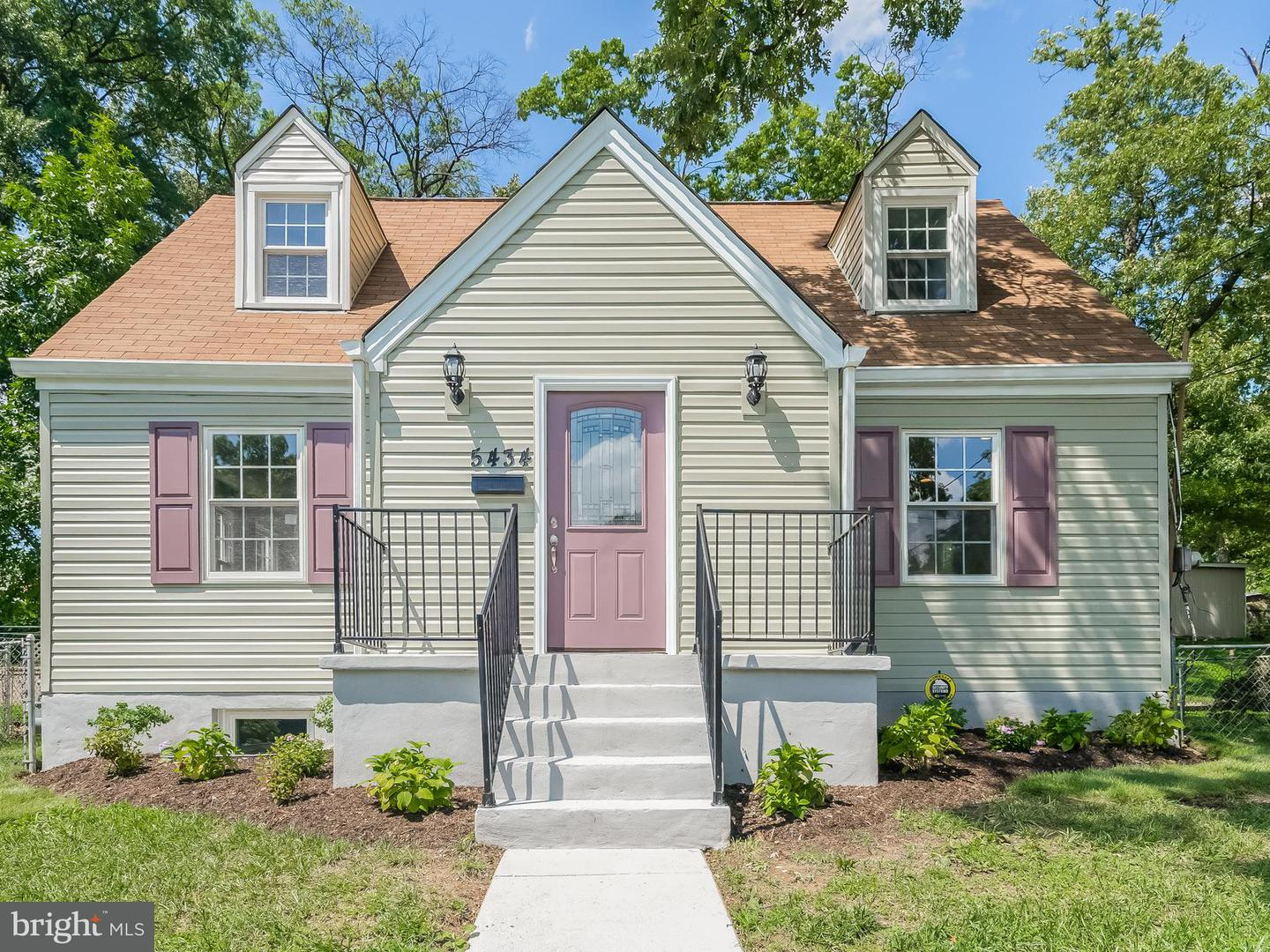 Single Family for Sale at 5434 Taussig Rd Bladensburg, Maryland 20710 United States