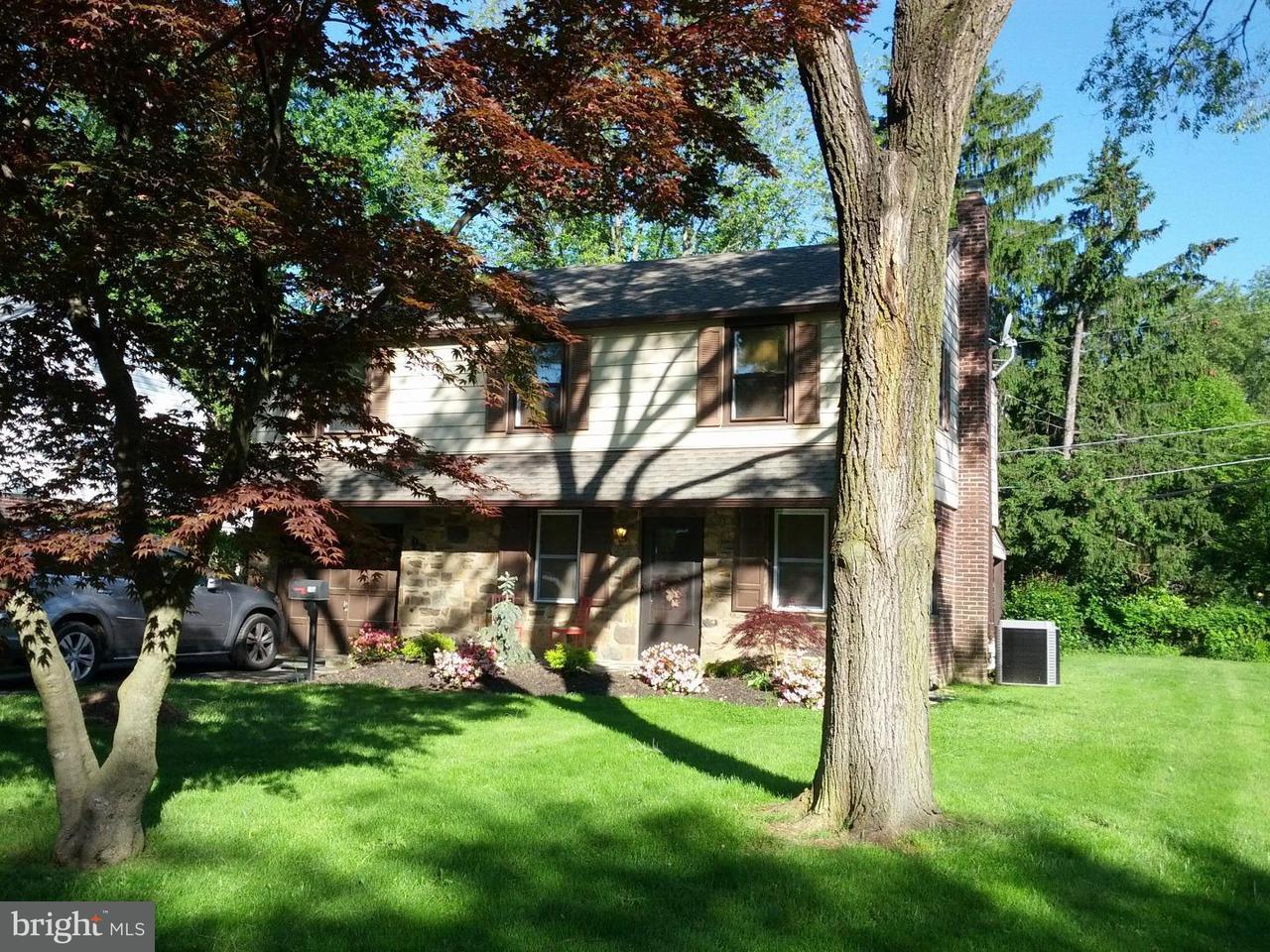 Частный односемейный дом для того Аренда на 141 GARDEN Road Oreland, Пенсильвания 19075 Соединенные Штаты