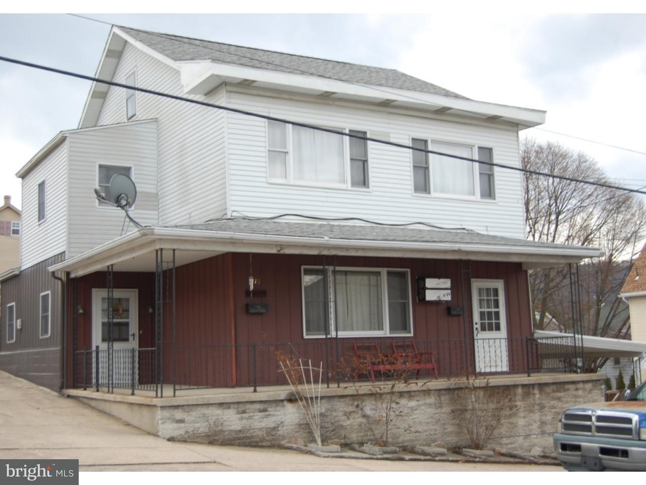 Maison unifamiliale pour l Vente à 147 E RUDDLE Street Coaldale, Pennsylvanie 18218 États-Unis