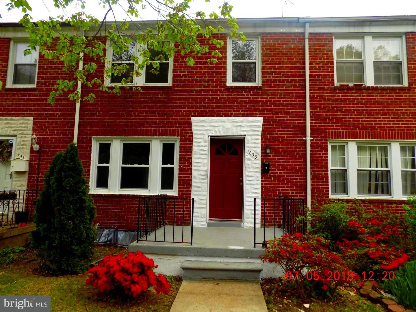 Single Family for Sale at 1639 Woodbourne Ave Baltimore, Maryland 21239 United States