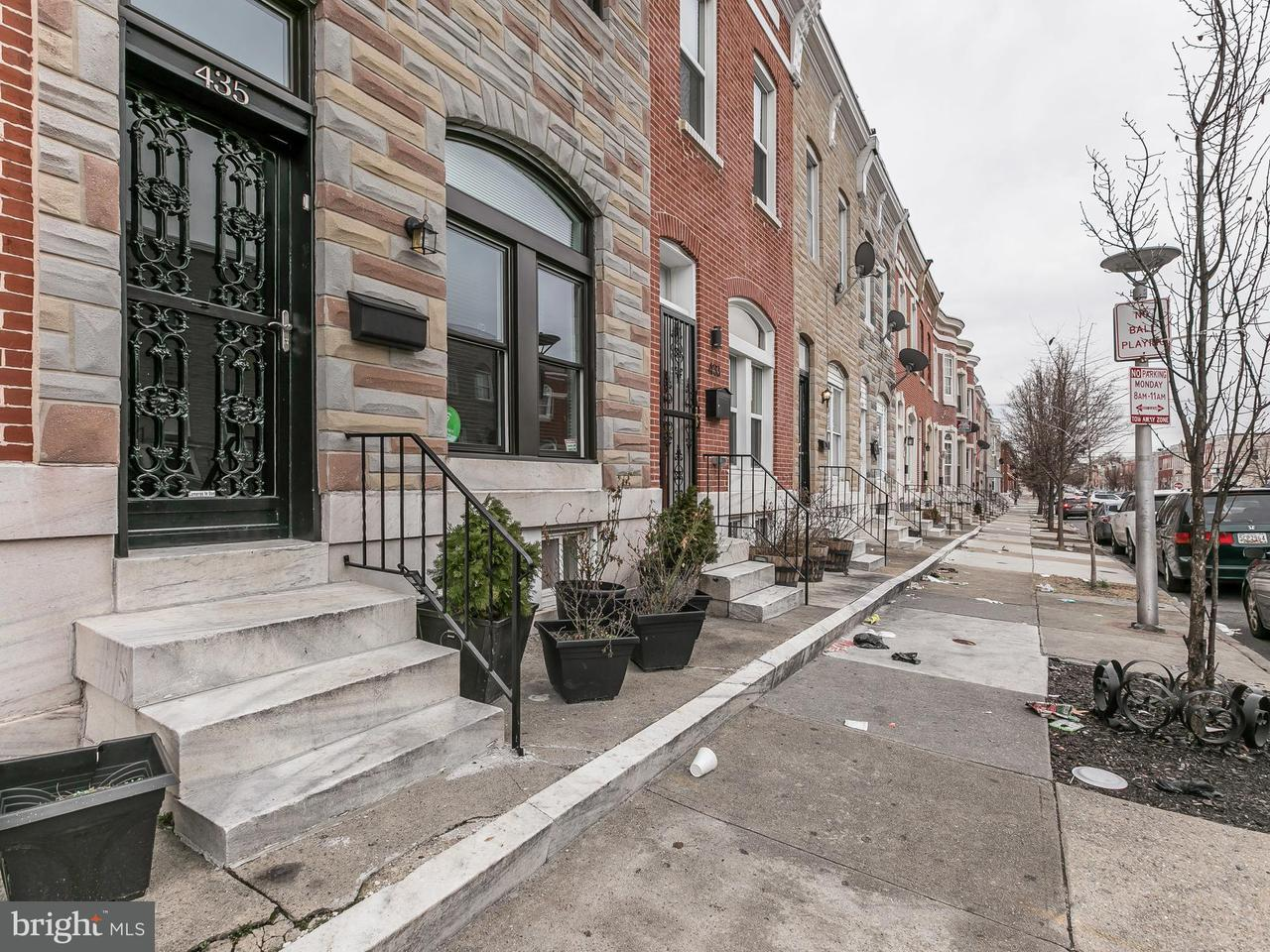 Single Family for Sale at 435 Luzerne Ave N Baltimore, Maryland 21224 United States