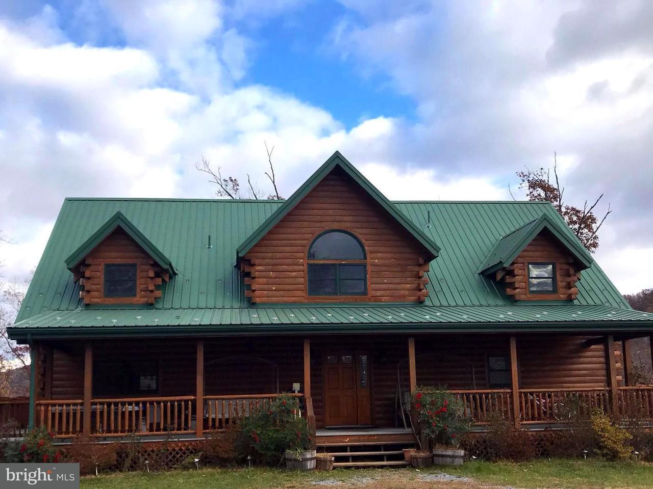 独户住宅 为 销售 在 10 Locust Ridge Road 10 Locust Ridge Road Moorefield, 西弗吉尼亚州 26836 美国