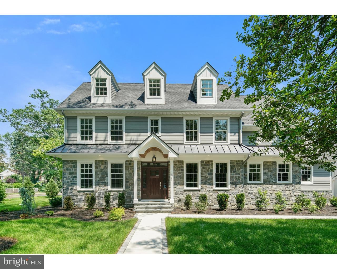 Частный односемейный дом для того Продажа на 161 GILL Road Haddonfield, Нью-Джерси 08033 Соединенные Штаты