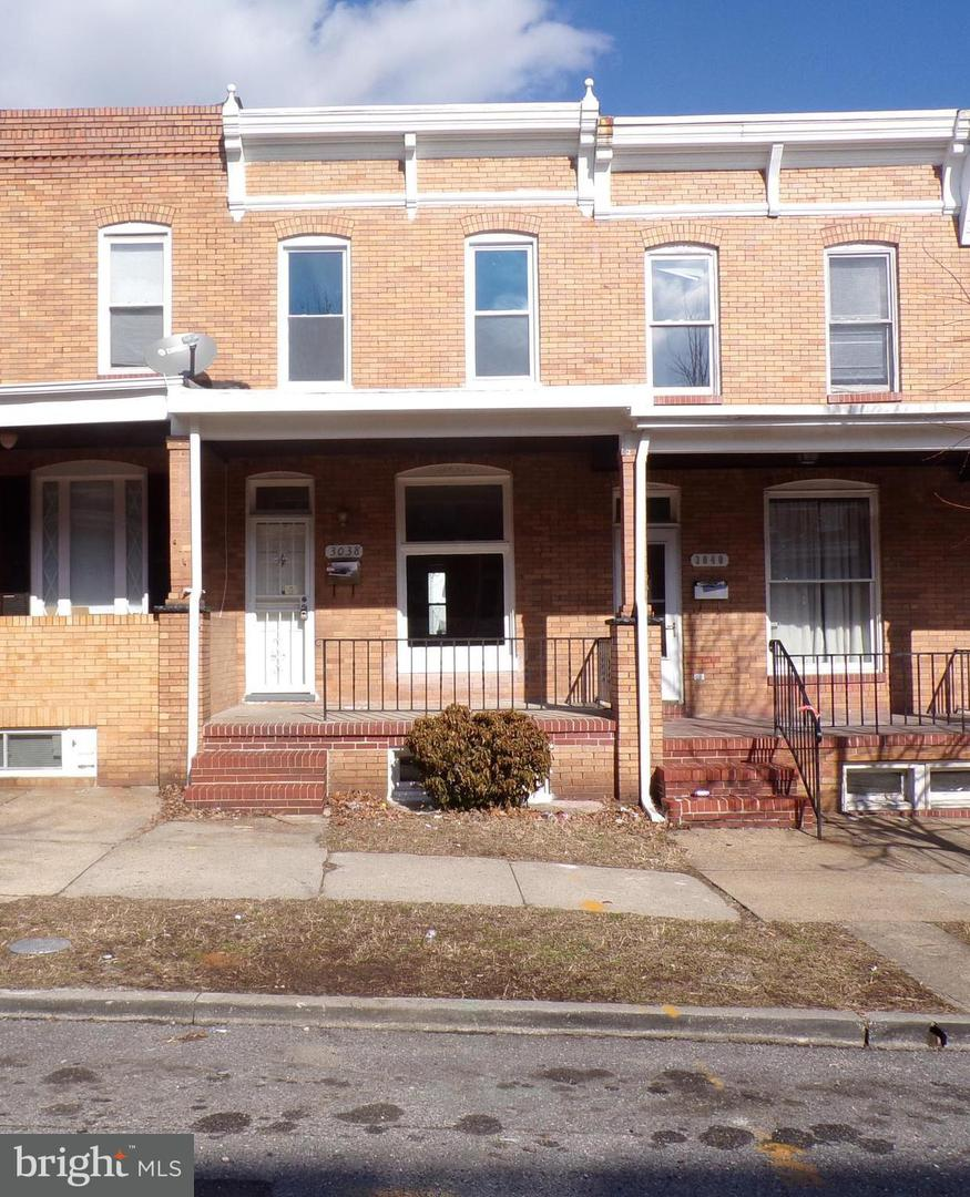 Other Residential for Rent at 3038 Chesterfield Ave Baltimore, Maryland 21213 United States