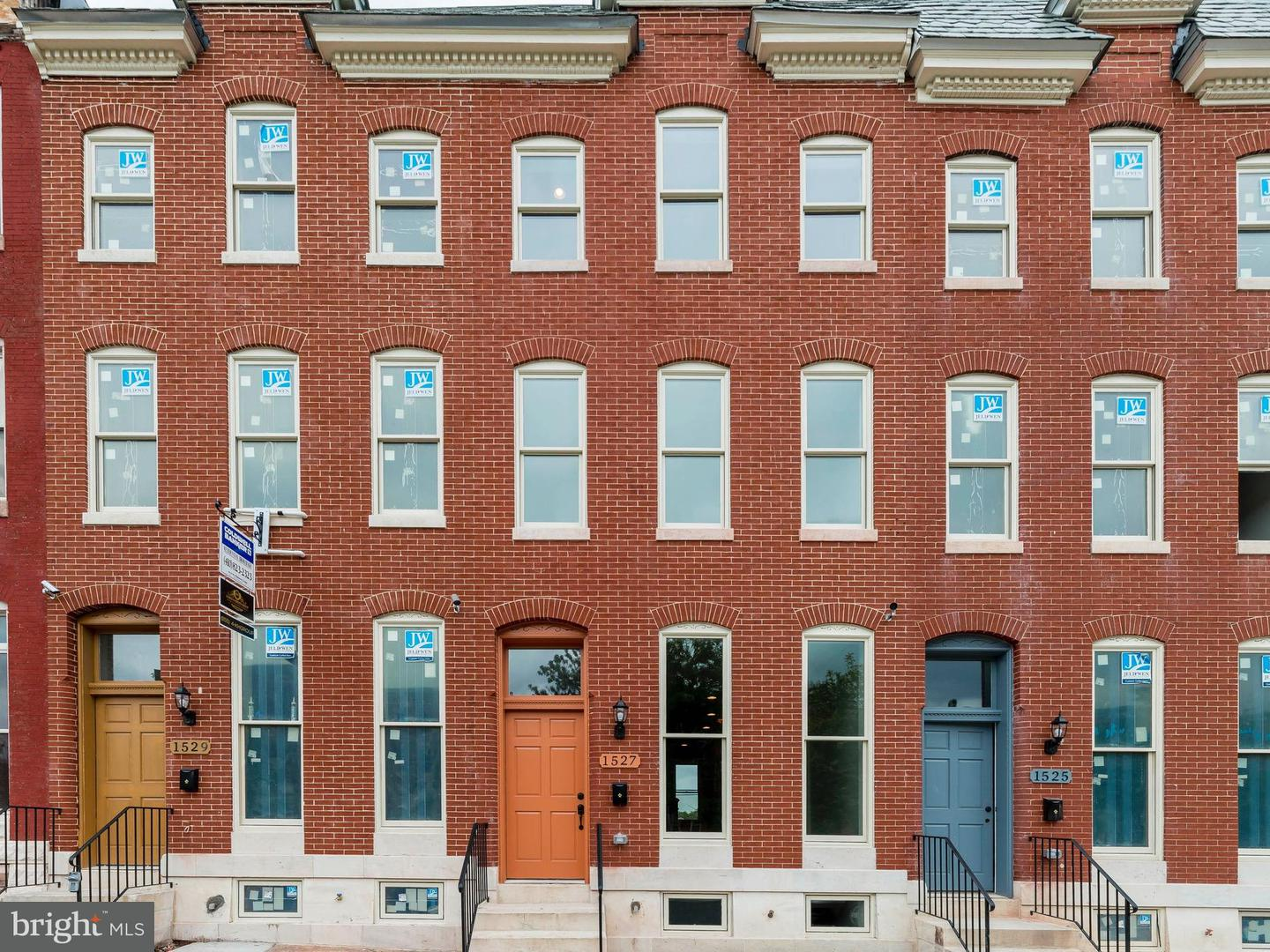 Photo of home for sale at 1529 Broadway, Baltimore MD