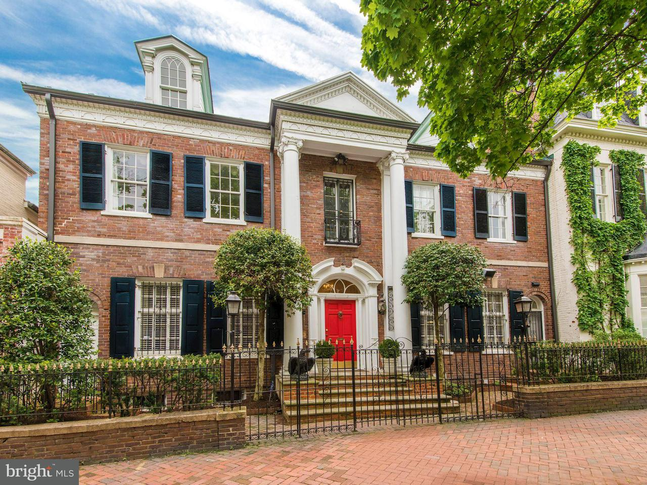 Single Family for Sale at 3306 O St NW Washington, District Of Columbia 20007 United States