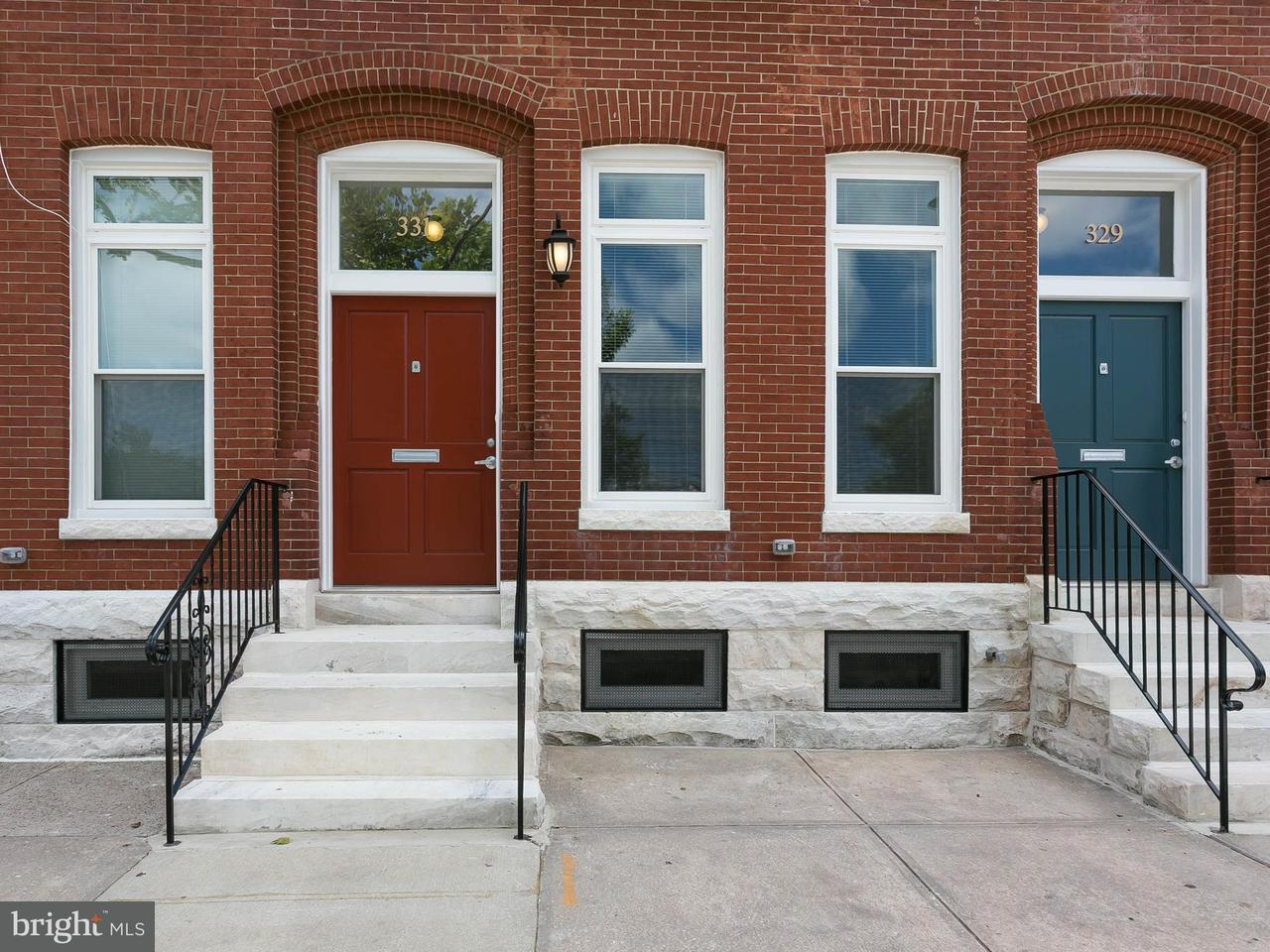 Single Family for Sale at 331 20th St E Baltimore, Maryland 21218 United States