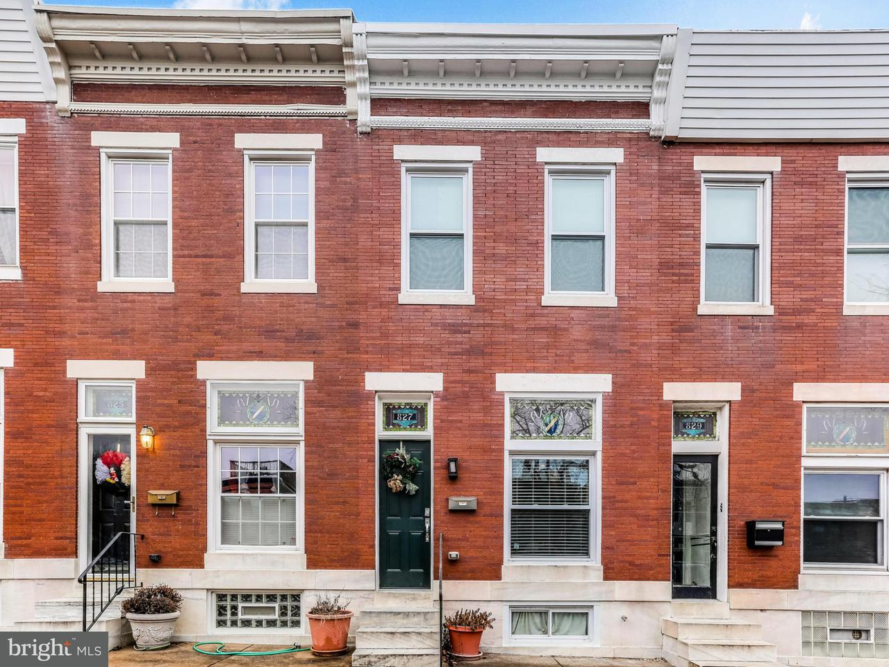 Single Family for Sale at 827 Conkling St S Baltimore, Maryland 21224 United States
