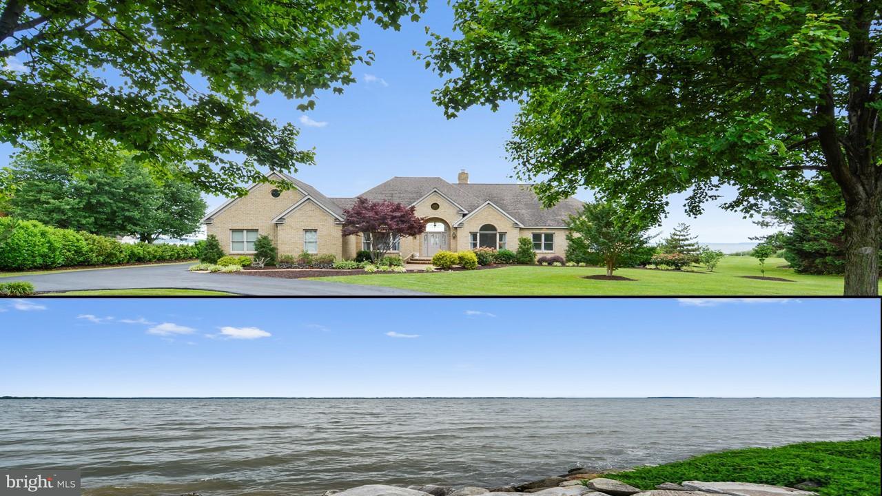 Частный односемейный дом для того Продажа на 2839 Cox Neck Road 2839 Cox Neck Road Chester, Мэриленд 21619 Соединенные Штаты