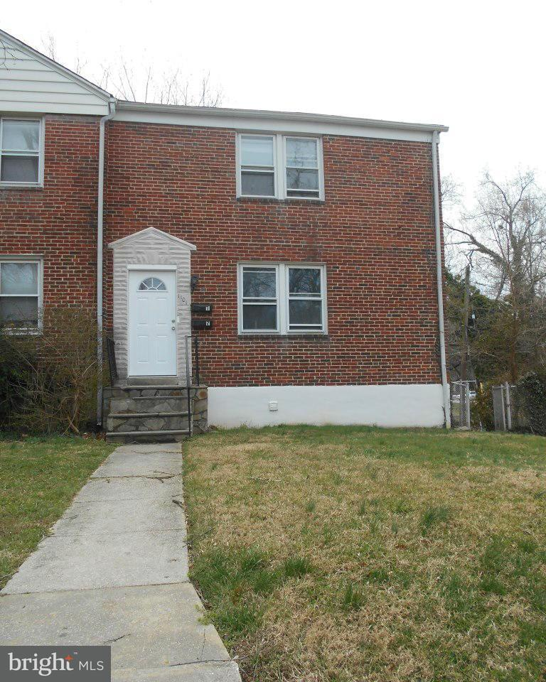Other Residential for Rent at 1101 Gleneagle Rd #1st Floor Baltimore, Maryland 21239 United States