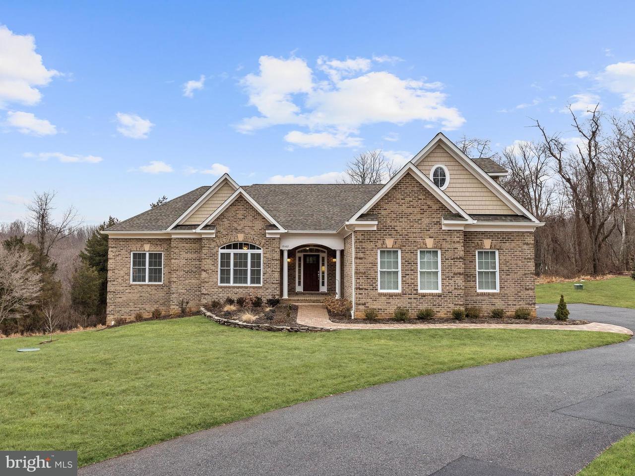Maison unifamiliale pour l Vente à 15162 Bushy Park Road 15162 Bushy Park Road Woodbine, Maryland 21797 États-Unis