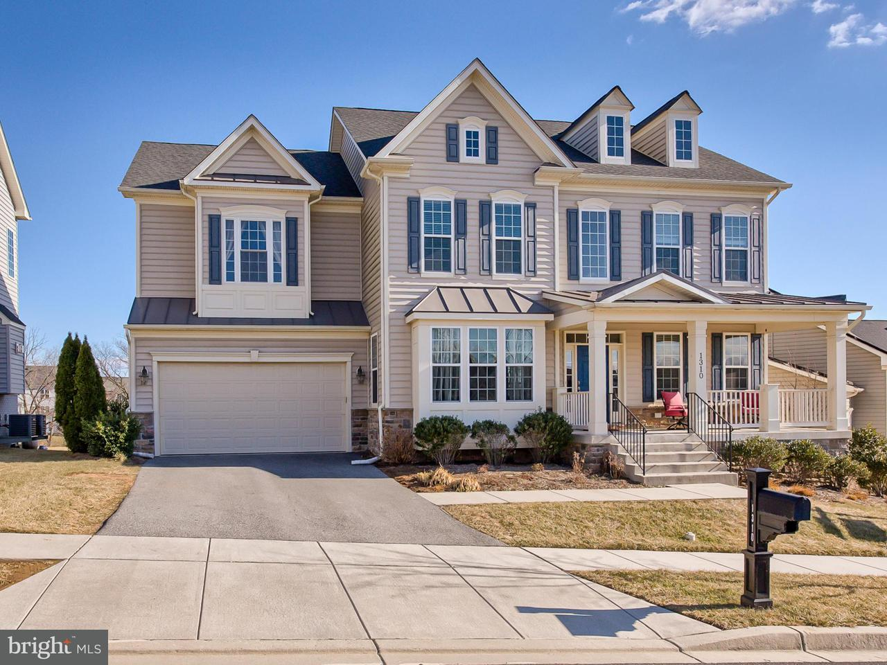 Single Family Home for Sale at 1310 Hope Farm Court 1310 Hope Farm Court Brunswick, Maryland 21716 United States