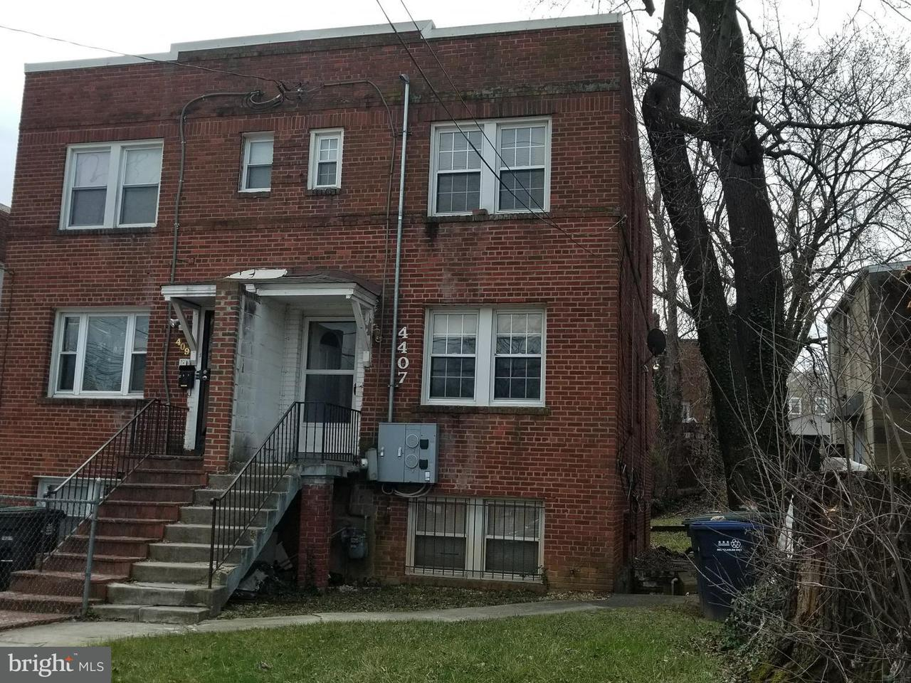 Single Family for Sale at 4407 Foote St NE Washington, District Of Columbia 20019 United States