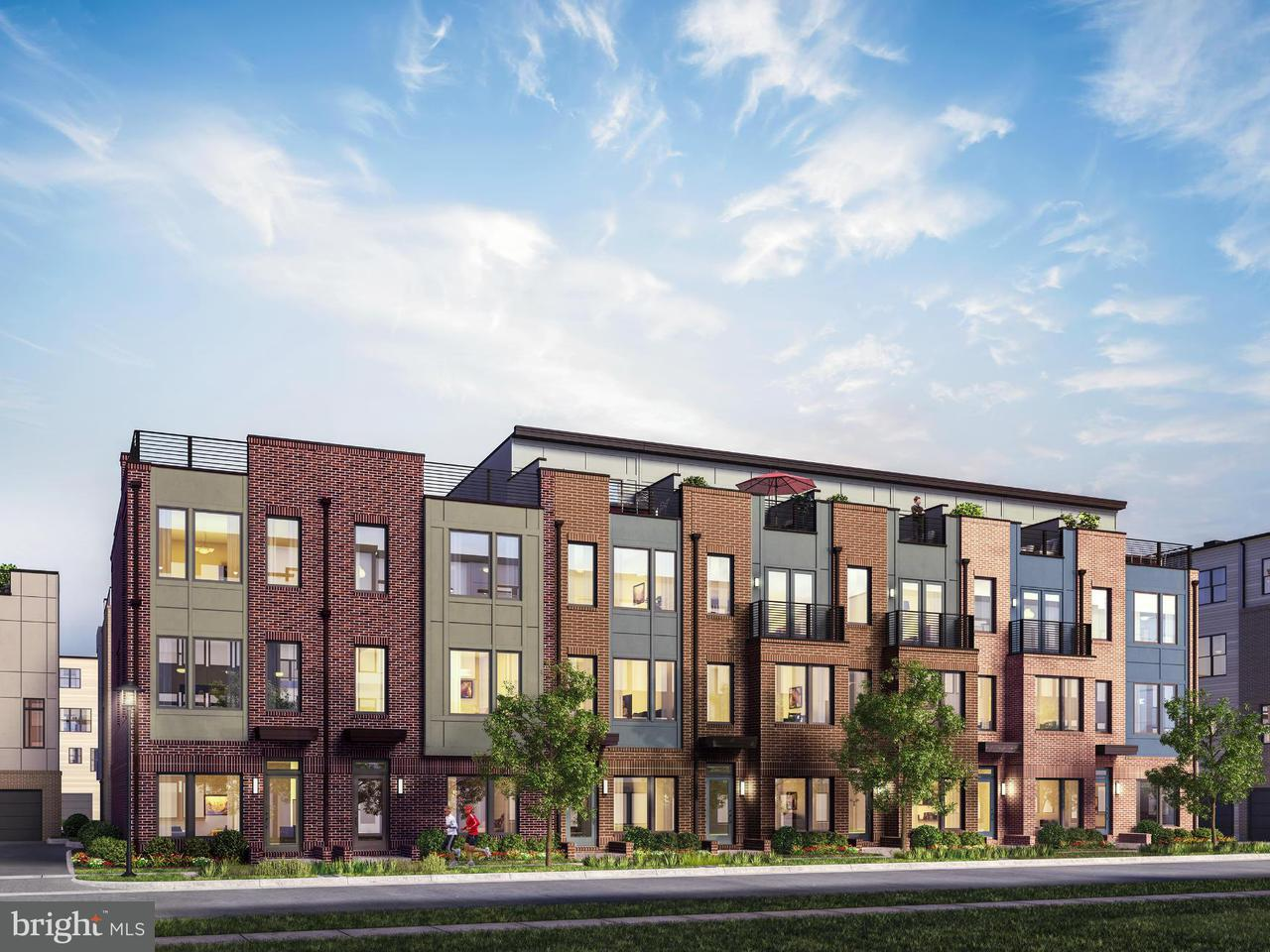 Townhouse for Sale at 16658 Crabbs Branch Way #Gershwin Model 16658 Crabbs Branch Way #Gershwin Model Rockville, Maryland 20855 United States