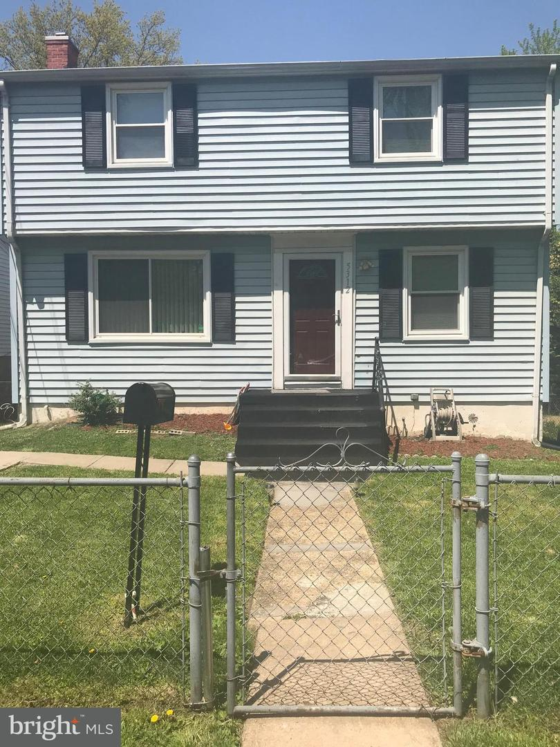 Single Family for Sale at 5312 Taylor St Bladensburg, Maryland 20710 United States