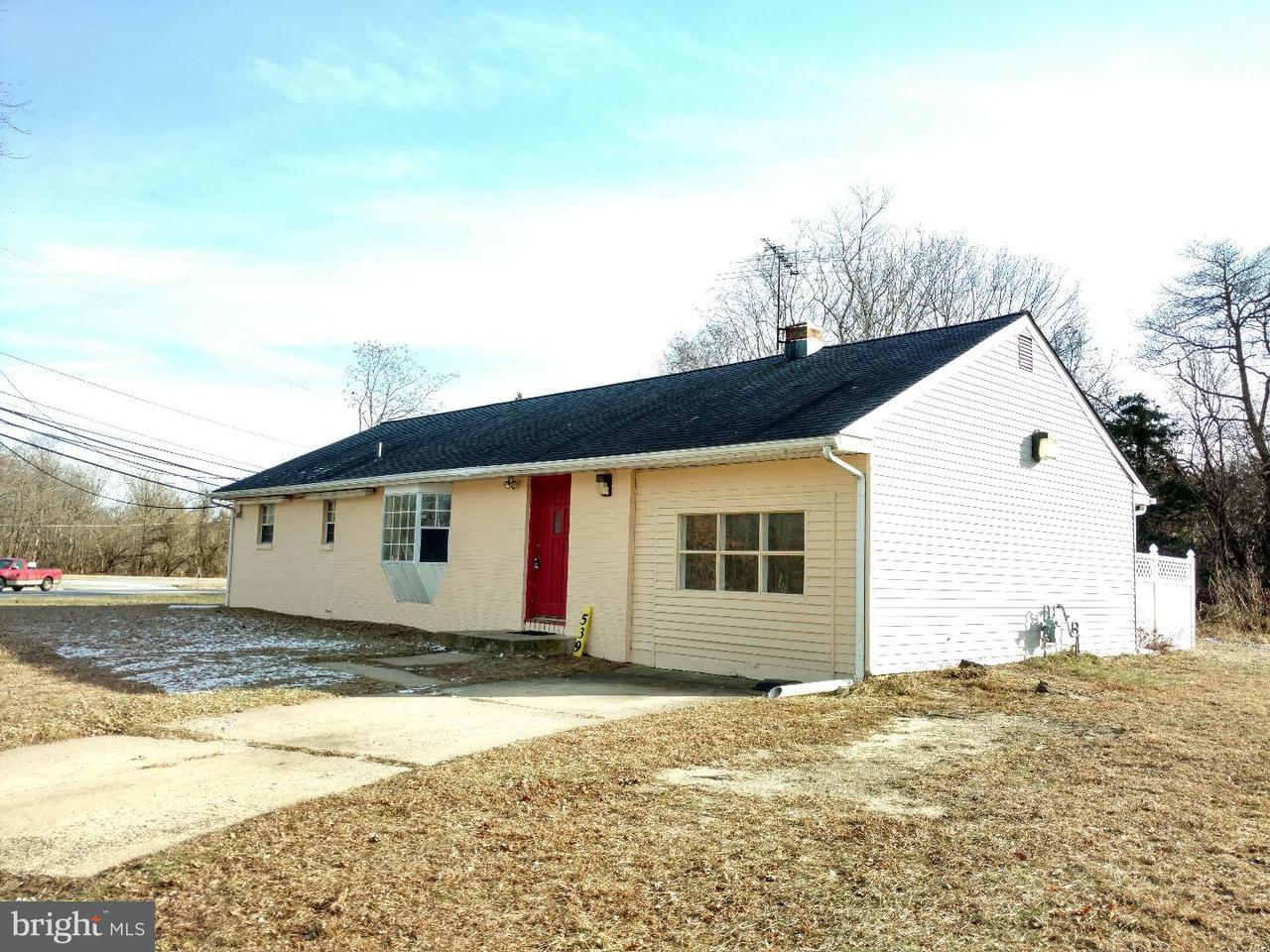 Enfamiljshus för Försäljning vid 539 WHITE HORSE PIKE Atco, New Jersey 08004 Usa