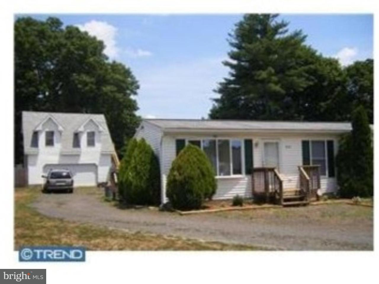 Single Family Home for Rent at 859 GEORGE Lane Vineland, New Jersey 08360 United States
