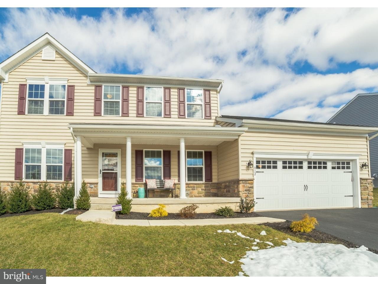 Single Family Home for Sale at 612 HARTZEL WAY Sellersville, Pennsylvania 18960 United States