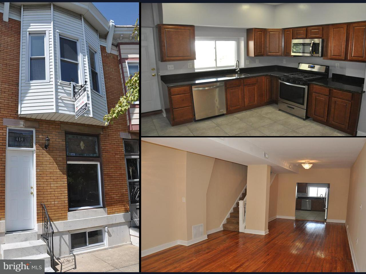Photo of home for sale at 414 Newkirk Street S, Baltimore MD