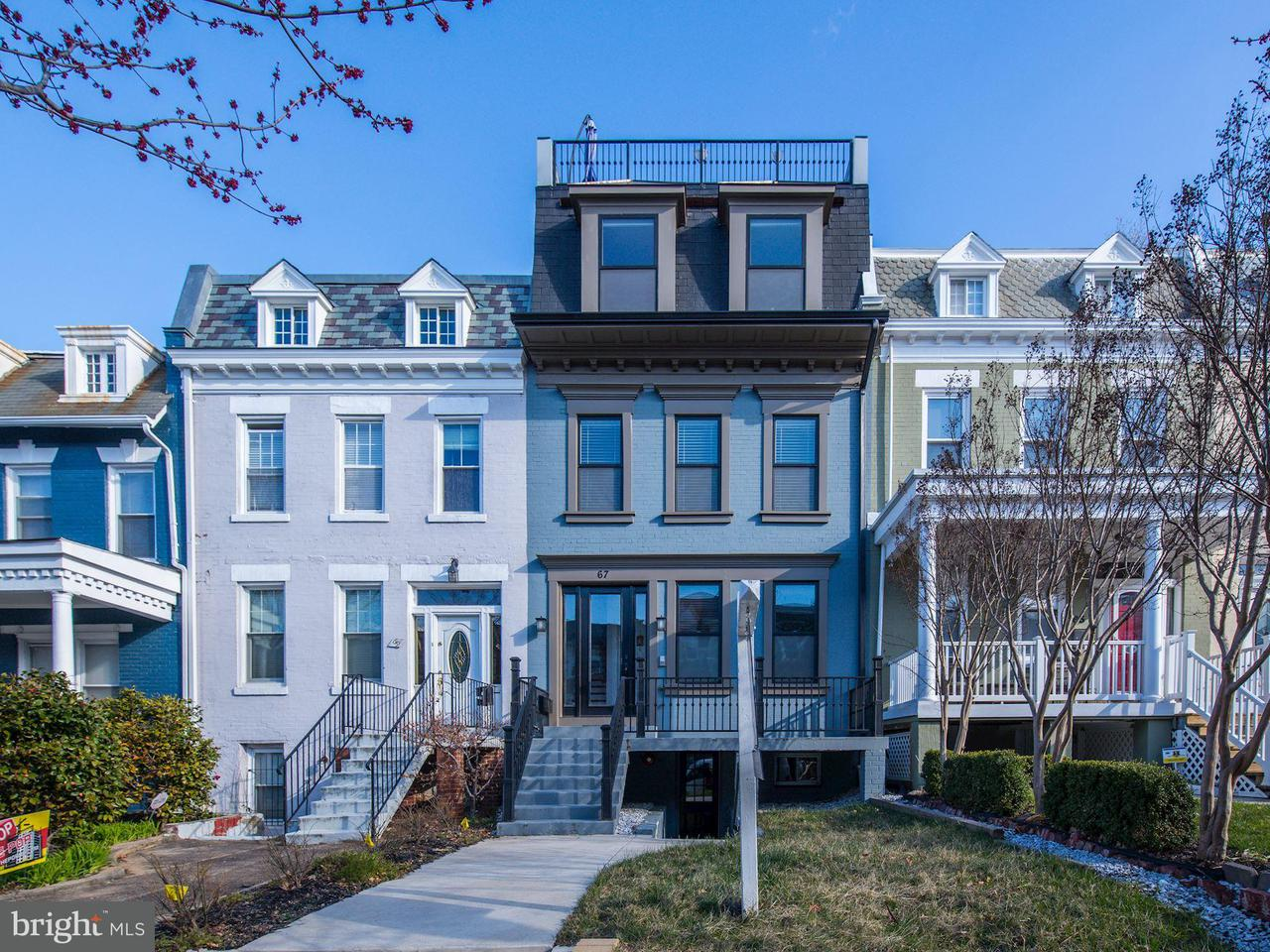 Condominium for Sale at 67 V St NW #3 Washington, District Of Columbia 20001 United States