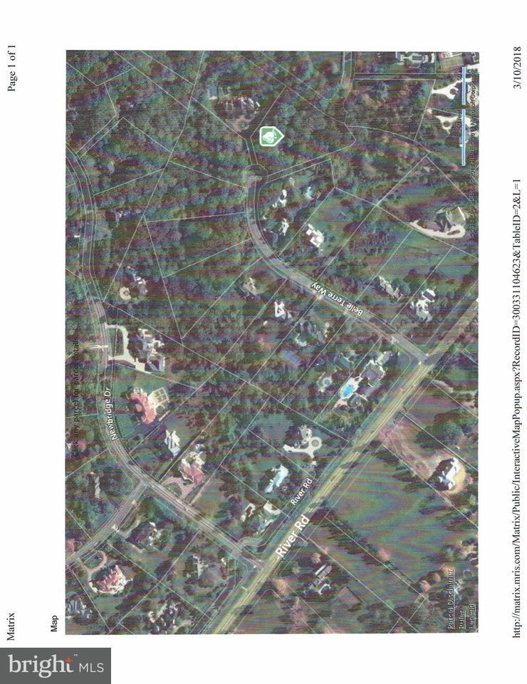 Terrain pour l Vente à 9329 Belle Terre Way 9329 Belle Terre Way Potomac, Maryland 20854 États-Unis