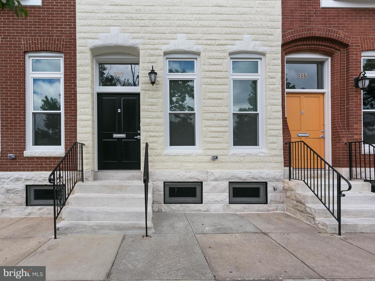Single Family for Sale at 337 E 20th St Baltimore, Maryland 21218 United States