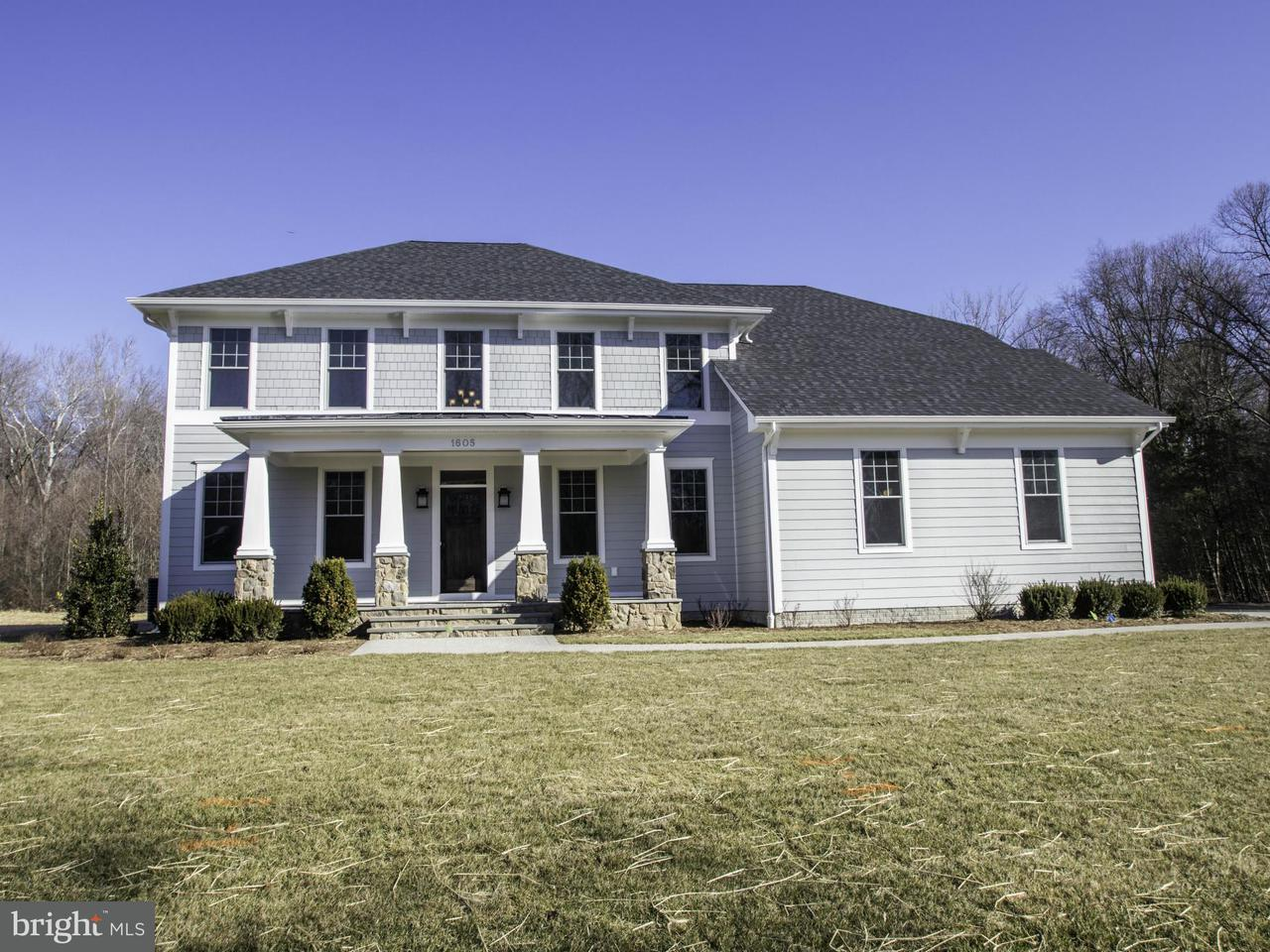 Single Family Home for Sale at 1601 Misty Manor Way 1601 Misty Manor Way Millersville, Maryland 21108 United States