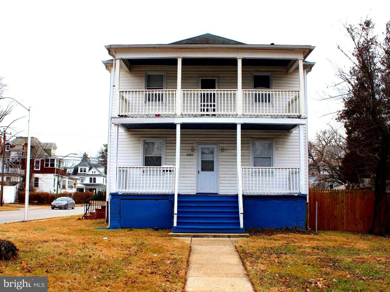 Single Family for Sale at 4301 Elderon Ave Baltimore, Maryland 21215 United States