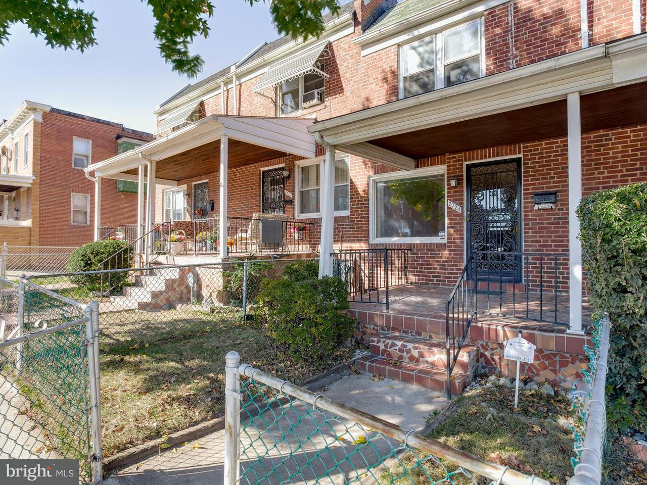Single Family for Sale at 2724 Oliver St E Baltimore, Maryland 21213 United States