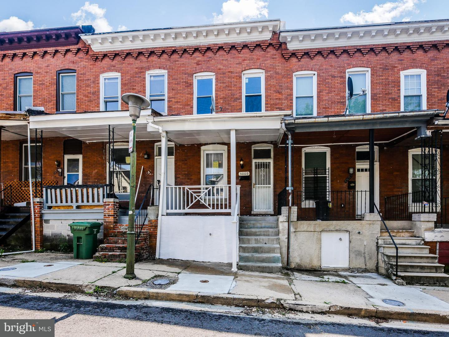 Single Family for Sale at 3009 Ellerslie Ave Baltimore, Maryland 21218 United States